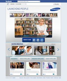 TAB FACEBOOK LAUNCHING PEOPLE BY SAMSUNG