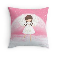 #Christmas #Angel with Pink #Stars #girls #princess
