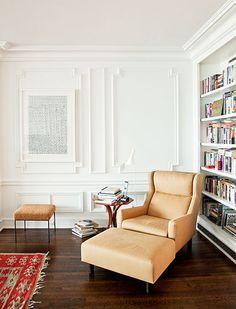 BALANCE PERFECTO Este apartamento, construido a finales de los años veinte por Benjamin Marshall en la ciudad de Chicago, se identifica por su perfecto balance.  Foto: Mónica Barreneche.