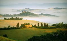 Pienza Val dOrcia Toscana ITALY the way we were Pinterest