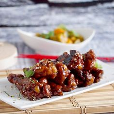 Sticky and delicious Coca cola chicken wings. Great starter! (In English and Polish)