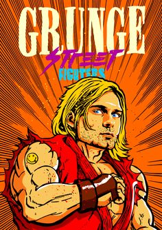 Grunge Street Fighters Project by Butcher Billy by Butcher Billy, via Behance