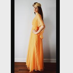 Vintage 1960's Beautiful Evening Gown at MadMak's Closet