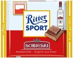 RITTER SPORT Fake Schokolade