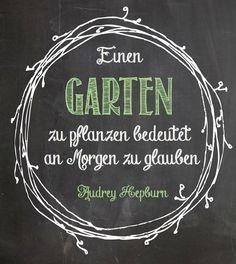 Garten Zitat                                                                                                                                                     Mehr