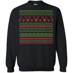 80's Christmas Knitted Holiday Ugly Christmas Sweater