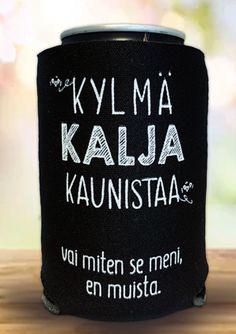 Cooler muistikatkos - www. Positive Vibes, Drink Sleeves, Sarcasm, Cheer, Lol, Feelings, My Love, Memes, Funny