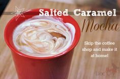 Nothing says winter time to me like a smooth, creamy, and delicious hot mocha – especially a Salted Caramel Mocha. It's one of my ...