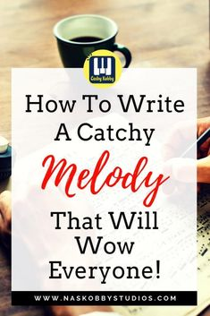 How To Write A Catchy Melody That Will Wow Everyone! Learning how to write a catchy melody can be hard but not impossible! These simple yet effective tips will help you write songs for beginners that will. Writing Lyrics, Music Writing, Cool Writing, Piano Lessons, Music Lessons, Guitar Lessons, Guitar Tips, Hit Songs, Music Songs
