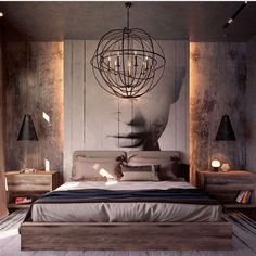 See more bedroom design ideas to inspire you for your interior design project! Look for more luxury decor inspirations at modernbedrooms Modern Master Bedroom, Modern Bedroom Decor, Master Bedroom Design, Home Bedroom, Modern Bedrooms, Bedroom Ideas Grey, Bedroom Ideas For Couples Modern, Glam Bedroom, Trendy Bedroom