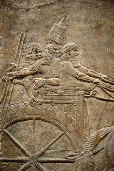 British Museum Nineveh Assyrian Relief Sculpture Wall Panels