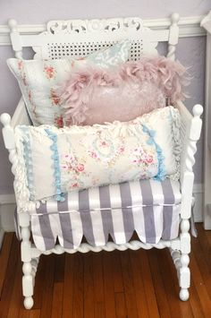 Pretty Chair...and Pillows