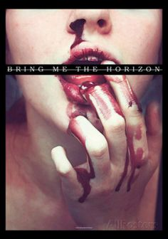 Bring Me the Horizon - Blood Lust Fabric Poster