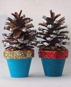 mini terracota christmas decorations 4