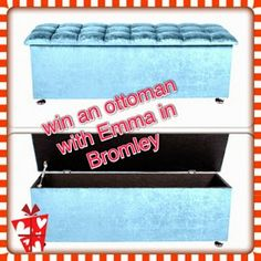 win an ottoman with emma in Bromley worth over £200 UK entries until 31.05.14 easy entry via blog comment xx