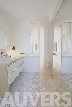 MARQ / gzgz: MARQ / imagen / reforma de dormitorio y baño / Auvers, Francia