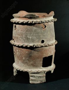 Terracotta oven from Pompeii