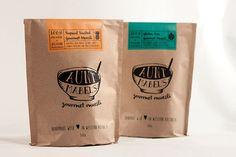 Aunt Mabel's Gourmet Muesli Packaging Design. Designed by: Jemma Morgan, Australia.