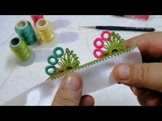 Crochet Earrings Pattern, Youtube, Plastic Cutting Board, Drawing, Design, Floral, Lace, Ribbon Embroidery Tutorial, Creative Crafts