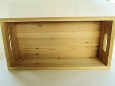 Wooden Boxes Set of 2 Unfinished Wood by DivineRusticCreation, $65.00