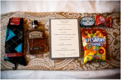 grooms wedding day survival kit