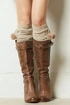 Winter is my favorite season because I love wearing boots of all colors and styles