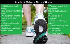 Walking helps men who suffer from impotence