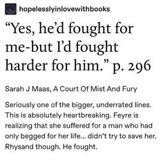A Court Of Wings And Ruin, A Court Of Mist And Fury, Throne Of Glass, Ya Books, Books To Read, Fury Quotes, Feyre And Rhysand, Sarah J Maas Books, Cartoon Books