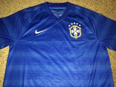f54c7b463 Sale Vintage Nike BRAZIL Soccer Jersey BRASIL by casualisme Vintage Nike