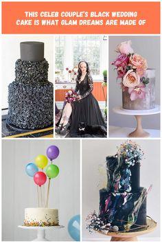 Colton Haynes + Jeff Leatham black wedding cake stole the show! black wedding cakes This Celeb Couple's Black Wedding Cake Is What Glam Dreams Are Made Of Jeff Leatham, Black Wedding Cakes, Colton Haynes, Celebrity Couples, Ballet Skirt, Celebs, Dreams, Drink, Skirts