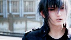 Noctis- ffxv. Oh yeaaah that slow-mo goodness.