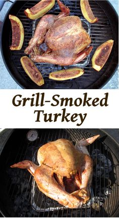 Grill Smoked Turkey | Curious Cuisiniere