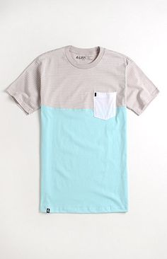 Lira Striped Block Tee. Summer threads. -@Colleen Irvin Sandoval