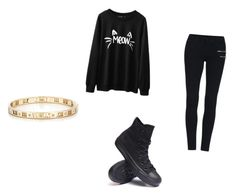 """Untitled #9"" by perezkaterine on Polyvore featuring Converse and Tiffany & Co."