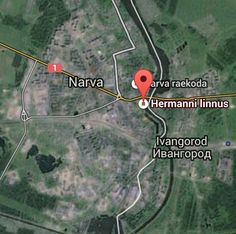 Is it an act of provocation. The convoy of US tanks and armored vehicles harboring American flags is crossing the Estonian city of Narva within less than a kilometer from the Russian border.
