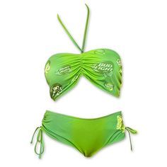 Bud Light Green Bikini #Bud #BudLight #Summertime #Bikini