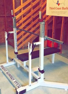 IPF Style Combo Rack | Texas Strength Systems