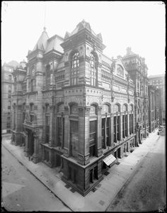 The Chicago Board of Trade, Chicago, Illinois, circa 1900. Photograph by Barnes-Crosby