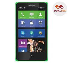"""Dual SIM, lo smartphone Nokia X è dotato di un touchscreen capacitivo da 4"""" dal gradevole design e del sistema operativo dedicato Nokia Software Platform.Compatibile con le applicazioni Android, questo cellulare ti dà accesso non solo al Nokia Store ma anche a più di una dozzina di altri negozi virtuali di applicazioni. €91.00"""
