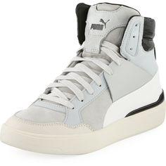 4394556d18b8 Puma X Alexander McQueen Brace Femme Mid-Top Sneaker