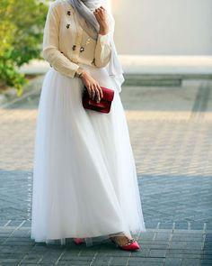 Hijab beautiful dress - 2015 style