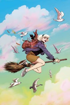 """Drawing Comics Adventures of Sabrina: Chilling No More? - Despite becoming a popular Netflix Show, the comic book Chilling Adventures of Sabrina has sadly fallen off its ambitions """"two . Archie Comics, Character Art, Character Design, Witch Drawing, Digital Foto, Comic Anime, Teen Witch, Sabrina Spellman, Witch Art"""