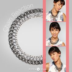 PIPPA&JEAN CHAIN REACTION Necklace