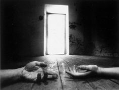 Jan Saudek. Hungry for your touch. 1971