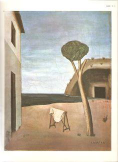 A casa encantada 1921 - Carlo Carra- o pintor do Manifesto Futurista