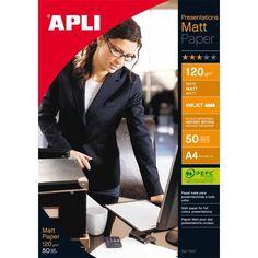 Comprar Papel Mate Profesional Para Presentaciones A4 120Gr Apli 10417
