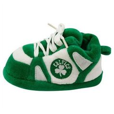 NBA baby shoes. These cute Celtics baby slippers are a perfect gift for your newborn. The baby slippers come packaged with a cord to hang them (pos...