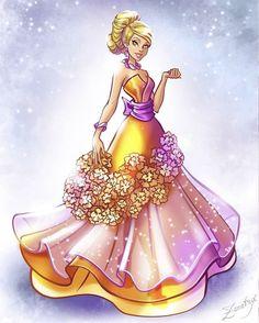 Winx Club, Princess Art, Disney Princess, Winx Cosplay, Baby Disney Characters, Fictional Characters, Gala Dresses, Powerpuff Girls, Cinderella