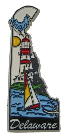 MGI Companies, Inc. - Delaware State Refrigerator Magnet (ultra color), $2.45 (http://www.internationalgiftitems.com/delaware-state-refrigerator-magnet-ultra-color/)