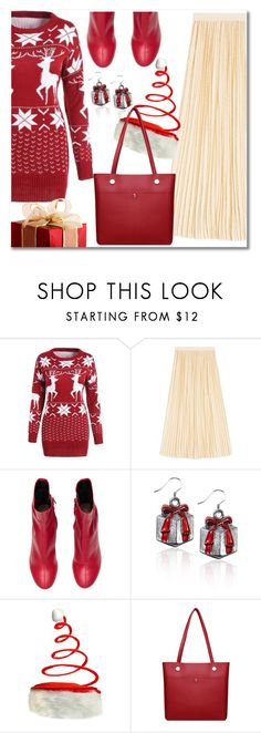 """""""Christmas vibes"""" by laurafox27 ❤ liked on Polyvore featuring Gucci"""